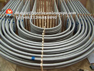 Stainless Steel U Bend Tube For Heat Exchanger Application , ASTM A213 / A213-2013 TP304L , Eddy Current Test & HT