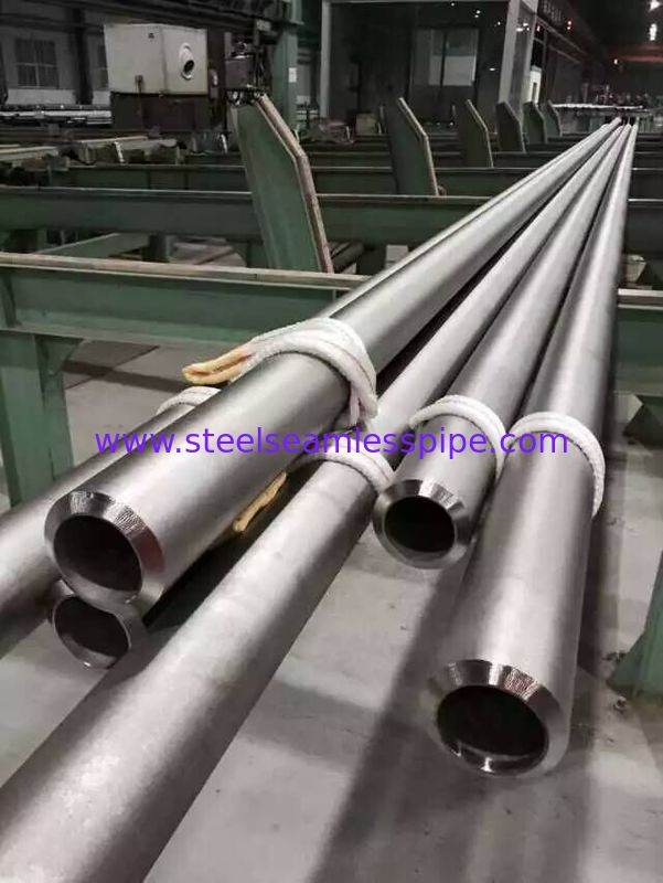 Incoloy Alloy 825 seamless pipe , Nickel Alloy Pipe ASTM B 163 / ASTM B 704, 100% ET AND HT