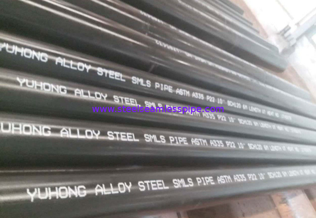 "ASTM A335 / ASMES SA335 Alloy Steel Seamless Tubes P9 / P11 / P12 / P22 / P91 Size 1/2"" To 24"" IN OD & NB"